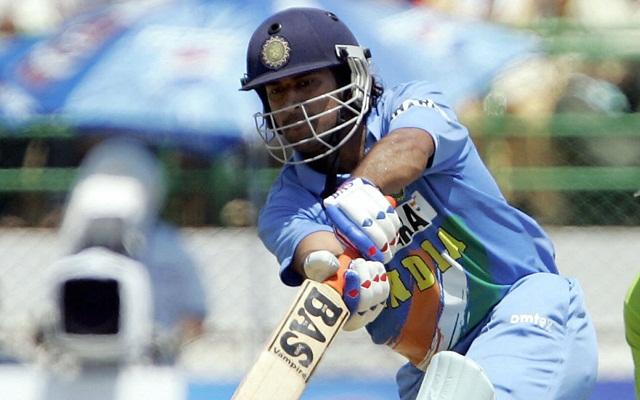 MS Dhoni against Pakistan A