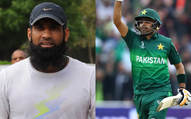 Mohammad Yousuf and Babar Azam