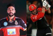 Mohammed Siraj and Colin de Grandhomme