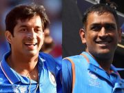 Mohit Sharma and MS Dhoni