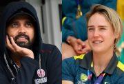 Murli Vijay and Ellyse Perry