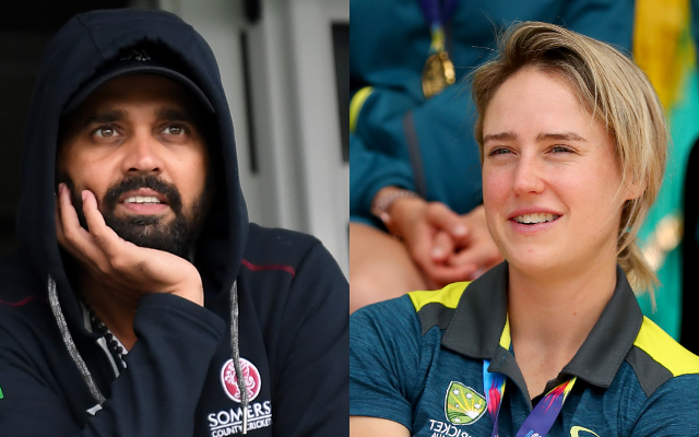 Murli Vijay and Ellyse Perry
