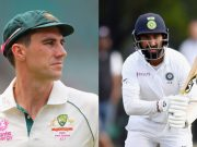 Pat Cummins and Cheteshwar Pujara