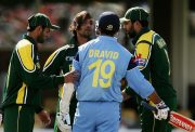 Rahul Dravid's tussle with Shoaib Akhtar in CT 2004