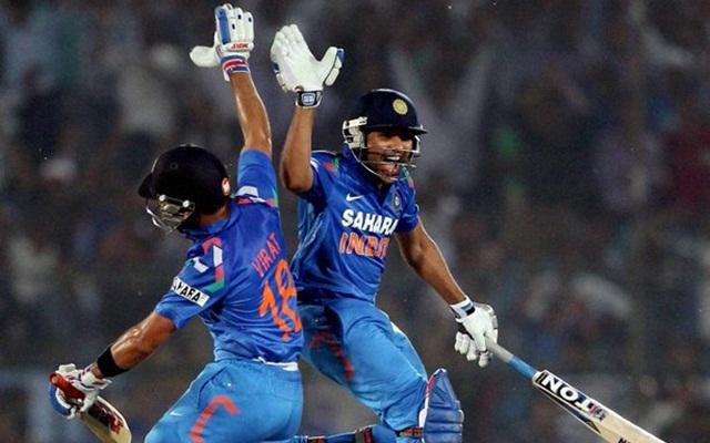 Rohit Sharma Virat Kohli Jaipur ODI