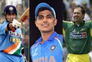 Sachin Tendulkar, Shubman Gill and Ricky Ponting