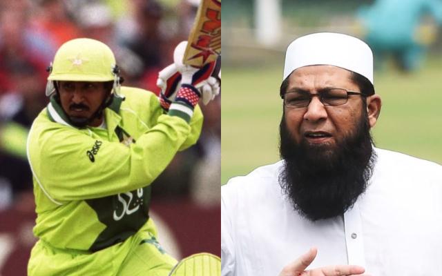 Saleem Malik and Inzamam-ul-Haq
