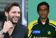 Shahid Afridi and Rashid Latif