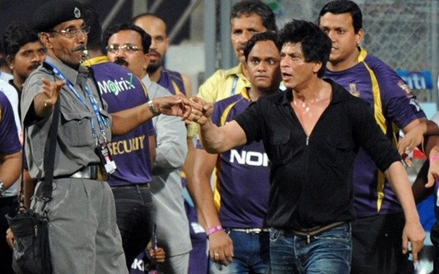 Shahrukh Khan at Wankhede stadium