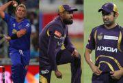 ShaneWarne, Yusuf Pathan and Gautam Gambhir