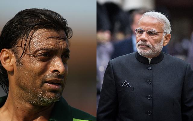 Shoaib Akhtar and Narendra Modi