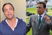 Shoaib Akhtar and Sunil Gavaskar