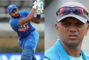 Shreyas Iyer and Rahul Dravid