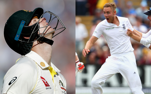 Steve Smith and Stuart Broad