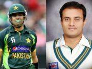 Umar Akmal and Tanvir Ahmed