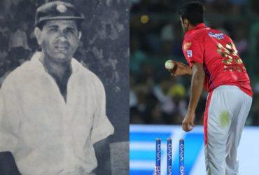 Vinoo Mankad and Ravichandran Ashwin