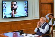 Virat Kohli and Narendra Modi