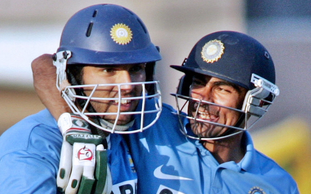 Yuvraj Singh and Mohammad Kaif