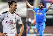 Zlatan Ibrahimović and Jasprit Bumrah