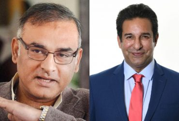Aamer Sohail and Wasim Akram