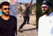 Arjun Kapoor, cricket fan and Virat Kohli