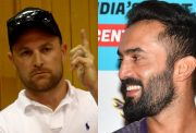 Brendon McCullum and Dinesh Karthik