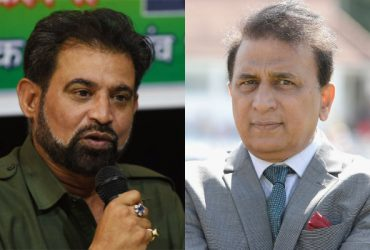Chetan Sharma and Sunil Gavaskar