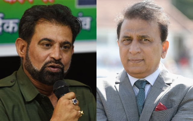 Chetan Sharma and Sunil Gavaskar