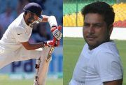 Cheteshwar Pujara and Kuldeep Yadav