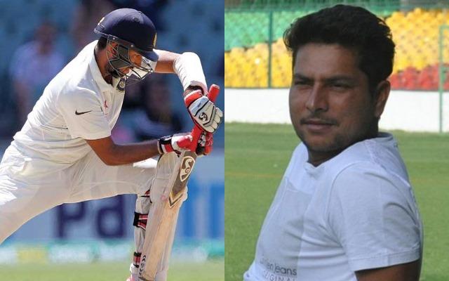 Cheteshwar Pujara and Kuldeep Yadav