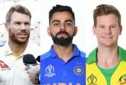 David Warner, Virat Kohli and Steve Smith