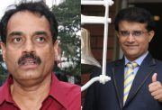 Dilip Vengsarkar and Sourav Ganguly