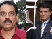 Dilip Vengsarkar and Sourav Ganguly