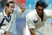 Irfan Pathan and Shoaib Akhtar