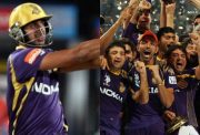 Manoj Tiwari and KKR