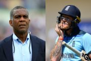 Michael Holding and Ben Stokes