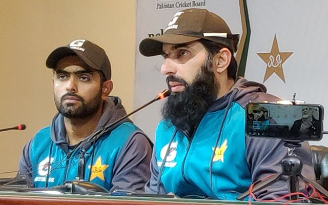 Misbah-ul-Haq and Babar Azam