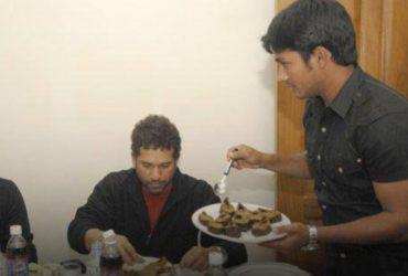 Mohammad Ashraful and Sachin Tendulkar