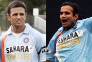 Rahul Dravid and Irfan Pathan