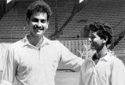 Ravi Shastri and Amol Muzumdar