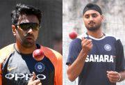 Ravichandran Ashwin and Harbhajan Singh