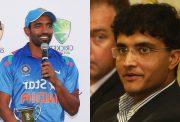Robin Uthappa and Sourav Ganguly