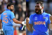 Rohit Sharma and Mohammad Shami