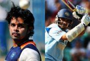 S Sreesanth and Sourav Ganguly