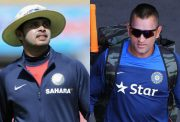 S. Sreesanth and MS Dhoni