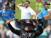 Sachin Tendulkar, Jacques Kallis, Virat Kohli and Ian Gould