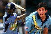 Sachin Tendulkar and Ajit Agarkar