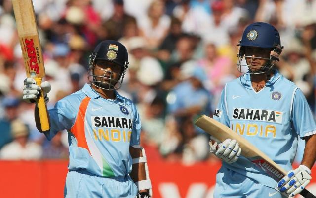 Sachin Tendulkar and Sourav Ganguly
