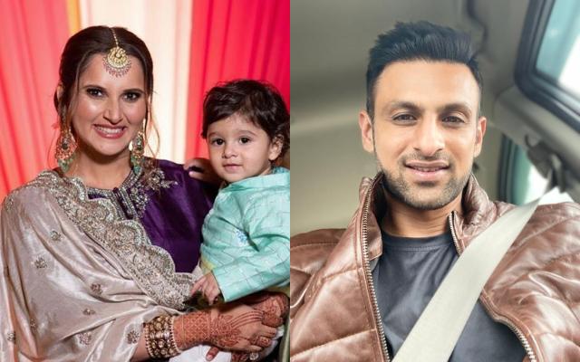 Sania Mirza, Shoaib Malik and their son