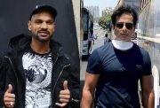 Shikhar Dhawan and Sonu Sood